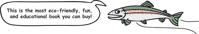 Fish Cartoon: This is the most eco-friendly, fun, and educational book you can buy!